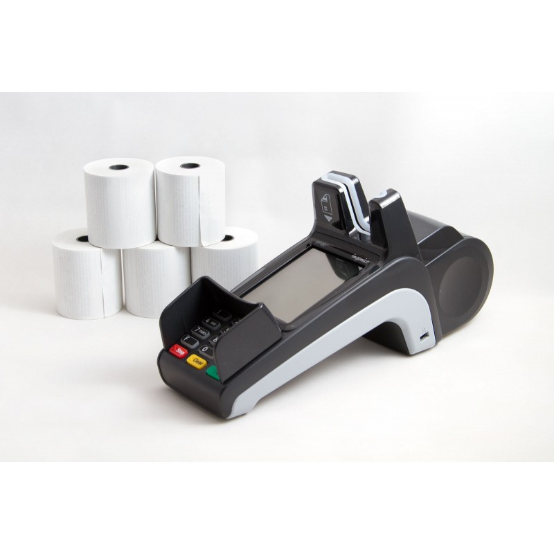 EC Terminal ipp480 mit Papierrollen