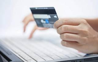 Durchführung einer Kredikartenzahlung am Computer