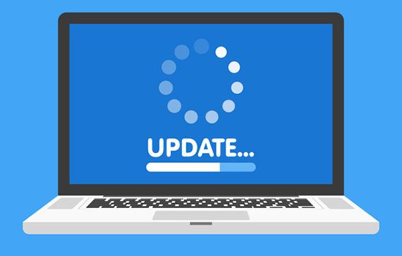 Hinweis auf ein Software Update