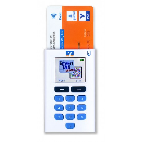 OneSpan Digipass Smart TAN Photo Leser